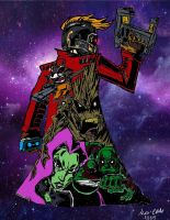 Guardians of the Galaxy by climbguy