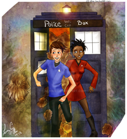 Star Trek/ Doctor Who: Tribble in Paradise by Ai-hime