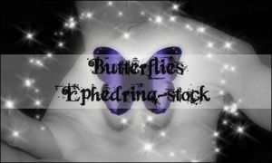 Butterflies brushes by ephedrina-stock