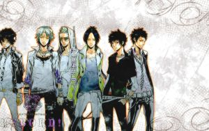 Reborn WP - Hot guys by piku-chan