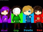 The Best Youtubers by jettnight