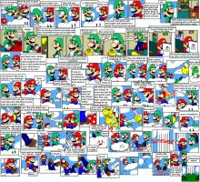 super mario bros page 19 by Nintendrawer