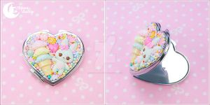 Mixed candy rabbit Mirror by CuteMoonbunny