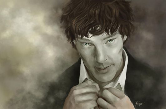 Cumberbatch by RazSketch