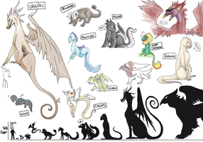 Reference: Dragons by AkitheFrivolicious