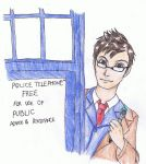 Tenth Doctor David Tennant by Lionesshunter