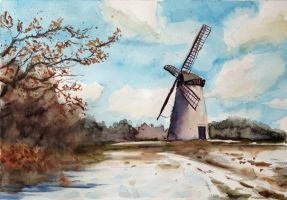 Wind mill by Medhi