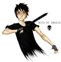 Nico di Angelo by WendyWiller
