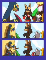 Barely Comic Test by ohgoshdarnthesecond