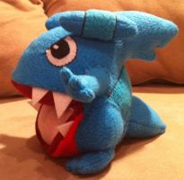 Gible Plush by LeluDallas