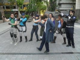 resident evil and michael jackson! by Chris--Redfield