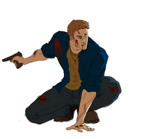 Dean Winchester by LoadOfBarnicles