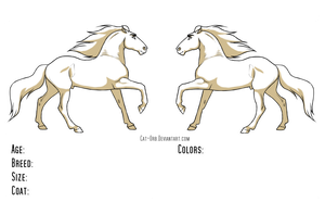 Free Reference - Stallion by Cat-Orb