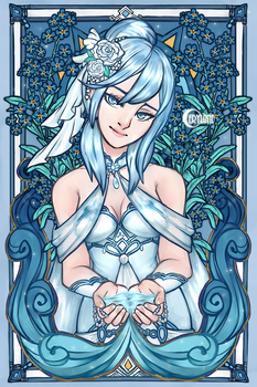 Forget Me Not by Cerylune