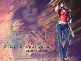 Claire Redfield Mercenaries 3D by Claire-Wesker1