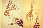 Giraffe Sketch Pages by Atlantistel