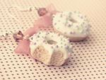 Donut earrings by M-Made