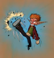 KICKING ANGRY by ReallyAngry