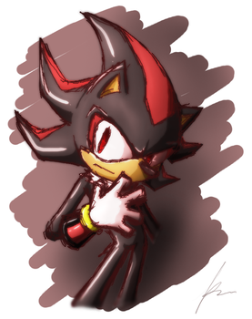 Shadow doodle by Puretails