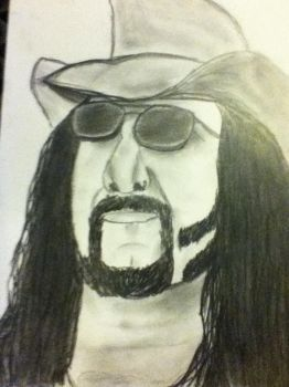 Vinnie Paul by SephirothCrow