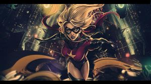 Justice Girl by Carlos-MMG