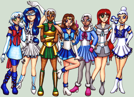 SMOCT2 Ice Senshi by Chibi-Sugar