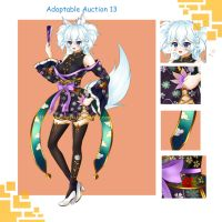Adoptable Auction 13 (Closed) by chechoski