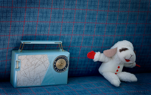 Lambchop and the Radio by Camaryn
