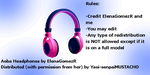 MMD Aoba's Headphones for DL by Yaoi-senpaiMUSTACHO