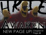 Awaken updated! Chapter01 Page48 by Flipfloppery