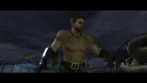 Chris Redfield Fanservice 14 by favorites1