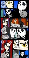 Just one thing...[Shinigami and Kid] by BrambleLady