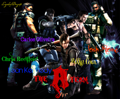 The Resident Evil A-Team by LegendaryDragon90