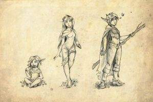Gailia Age progression by Elixia-Dragmire