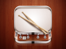 Drum icon by Ampeross