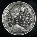 Australian Defaced Currency Coin by Shaun Hughes by shaun750