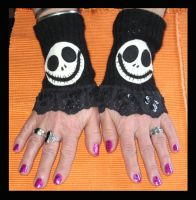 Skellington Hands by DarkDollArt