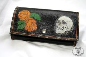Clutch bag by Hobbit-Leatherworks