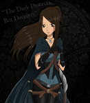 The Dark Protects But Deceives by FairyOfBlueFire04