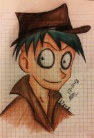 Perry the platipus -human version- by LizaNny