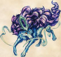 Suicune by Mootdam