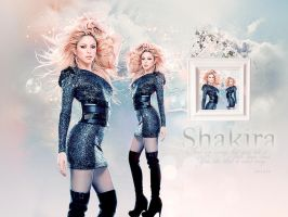 Wallpaper Shakira by shad-designs