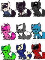 CLOSED FREE ADOPTABLE CATS by warriorcatniss