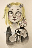 Lenore - watercolors by Nasuki100