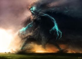 thunder beast by johnny912