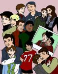 Glee Collage by Gothicthundra