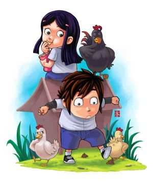 Kelana_and_His_Pets_by_KeMot