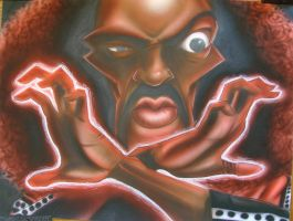 Sho Nuff by infiltr8arts