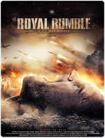 Poster Royal rumble by ahmed-aldhfeeri
