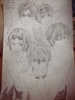 Free! fan art by raeinspirit7